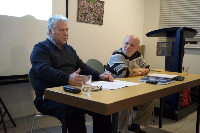 Buchautor Christian Kodritzki und Historiker Vicente Such-Garcia sprachen über den Dreißigjährigen Krieg