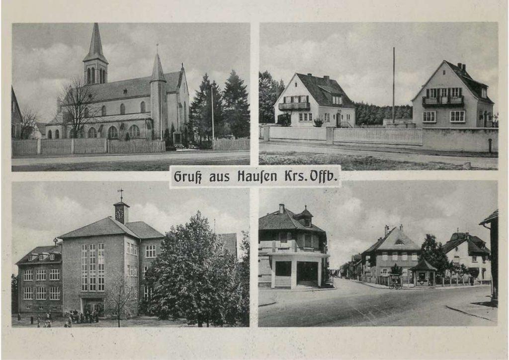 Postkarte von 1950