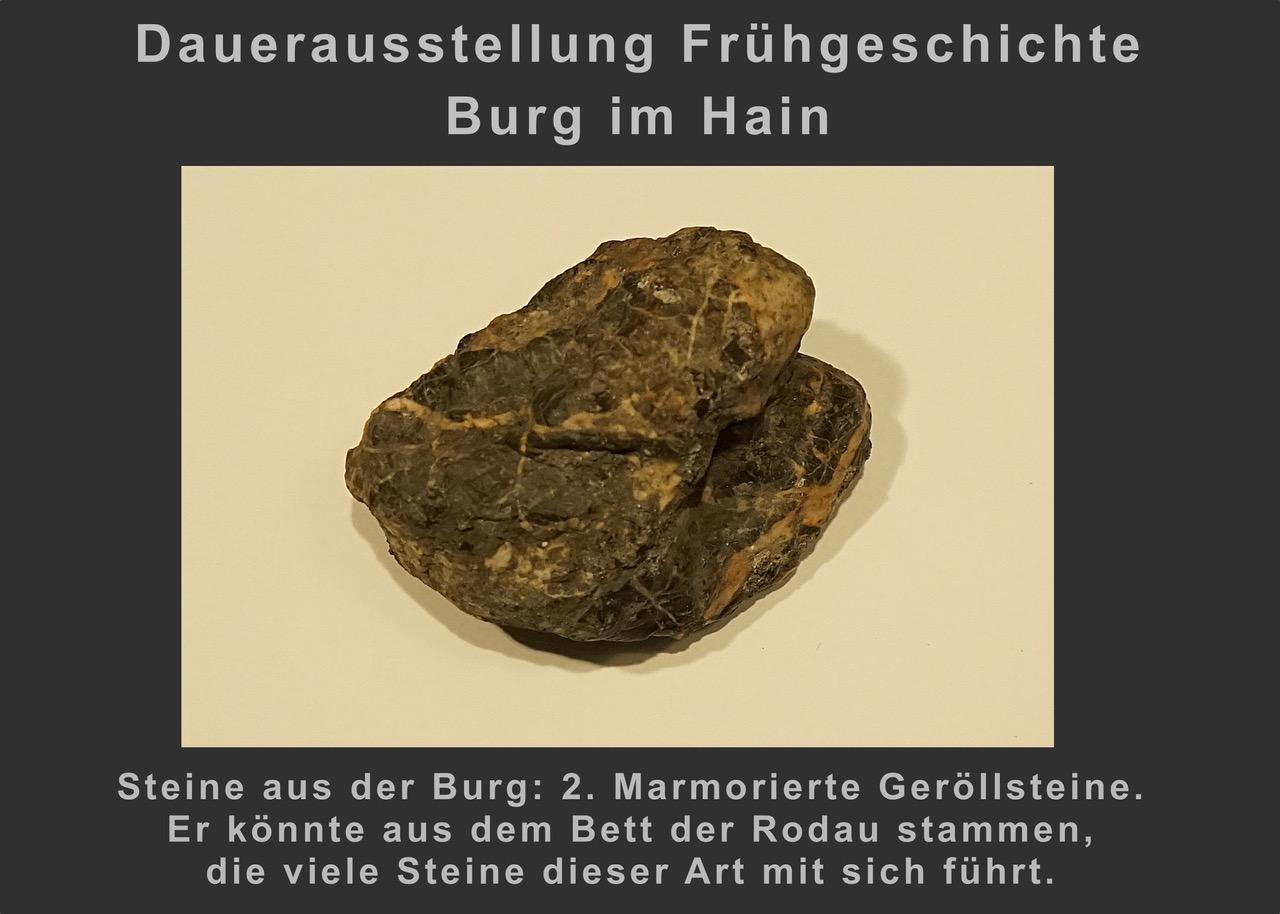 (7) Steine aus der Burg