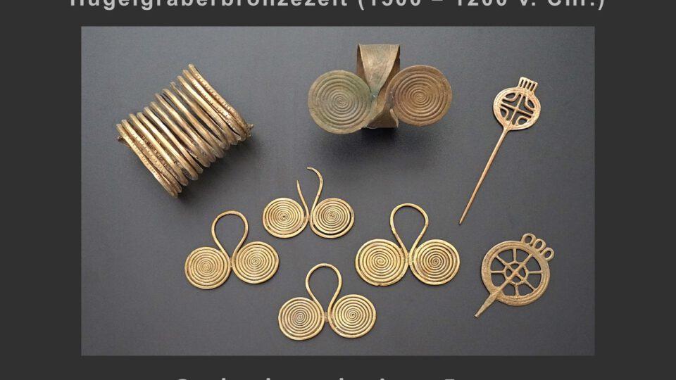 (6) Schmuck einer Frau aus der Bronzezeit (Mühlheim – Dietesheim)